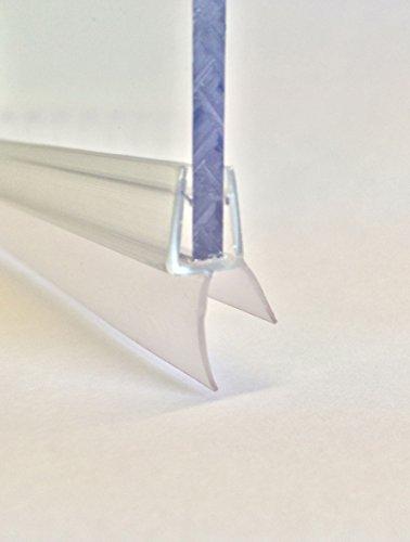 Luxe Douche Seal- Voor Schermen 4-6mm dik-100cm lengte. Eenvoudig op maat te snijden.