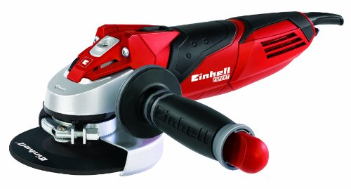 Einhell TE-AG 125/750 Amoladora Expert Angle Grinder-, 750 W, 230 V, 3 posiciones, agarre antideslizante (ref. 4430880)