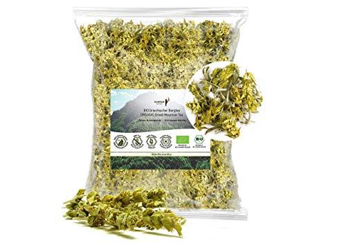 Minotaur Herbs | Bio Griechischer Bergtee aus dem Olymp, geschnitten, 250g | Premium Qualität aus kontrolliert biologischem Anbau