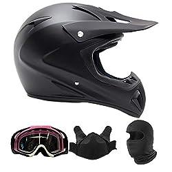 Typhoon Helmets Adult Snocross Snowmobile Helmet
