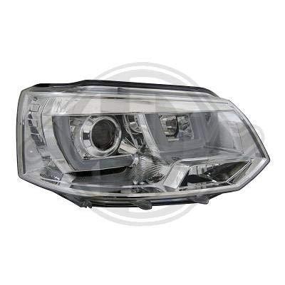 2273385, 1 paar koplampen design chroom voor T5 Caravelle, Multivan 1999 tot 2015