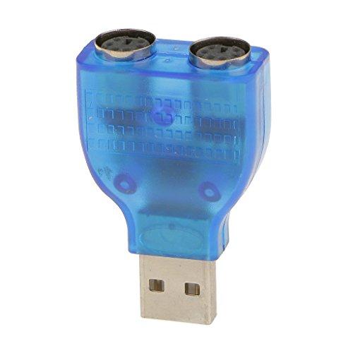 Para USB Macho a PS2 Hembra Convertidor Adaptador de Cable para Ratón...