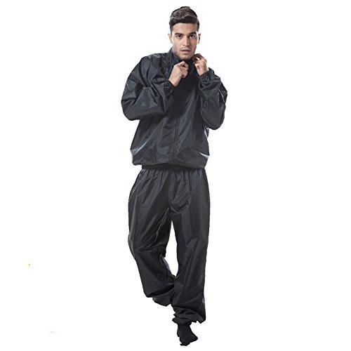 New moda uomo Sweat sauna brano perdita di peso tuta...