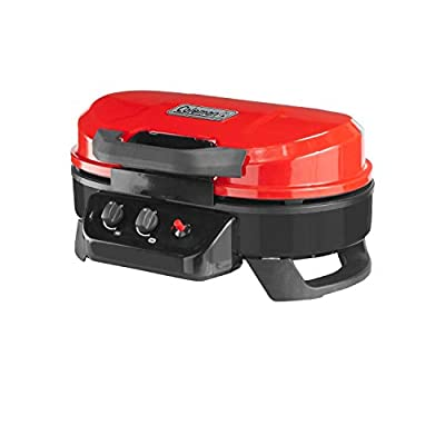 Coleman Roadtrip 225 Portable Tabletop Propane Grill, Red