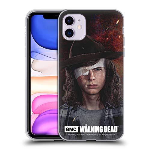 Offizielle AMC The Walking Dead Carl Staffel 8 Portraits Soft Gel Huelle kompatibel mit iPhone 11