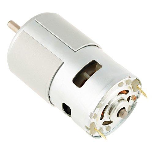 775 12 V 12000 U/min Hochgeschwindigkeits-Metallgetriebe Miniatur DC bürstenloser Motor für Elektroschrauber Elektrowerkzeug