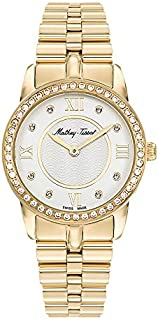 Mathey Tissot artemis Women's Off-White Dial Stainless Steel Band Watch - D1086PQYI