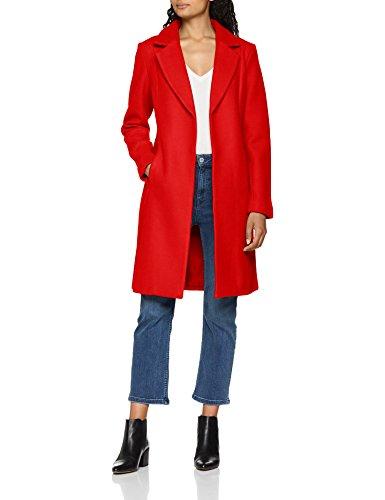 Only Onlrachel Wool Coat CC Otw Abrigo, Rojo (Goji Berry Goji Berry), 42 (Talla del Fabricante: Large) para Mujer
