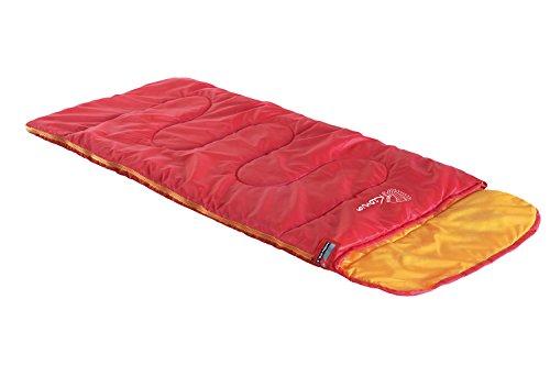 High Peak Kiowa Saco de Dormir, Niños, Rojo/Naranja, S