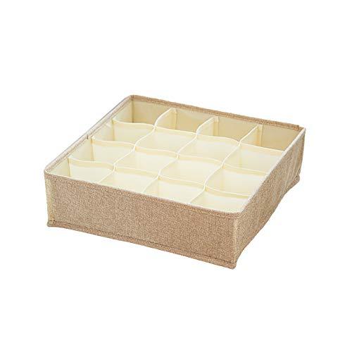 RENSHENKTO 1 organizador de cajón, caja de almacenamiento, ropa interior plegable, para cajones, para armario, organizador plegable