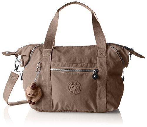 Kipling Art S Handtaschen, Damen, mehrfarbig, 44 x 27 x 18 cm, Grau - Grau – Grau (Warm Grey). - Größe: 44x27x18 cm