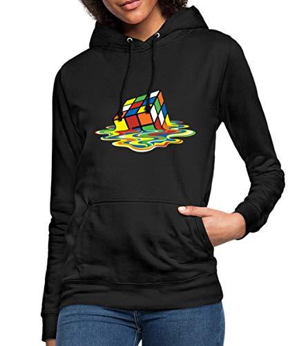 Spreadshirt Rubik's Cube Rubiks Kubus Smelten Vrouwen Hoodie