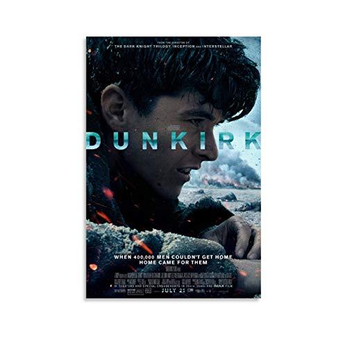 Dunkirk-Poster, dekoratives Gemälde, Leinwand, Wandkunst, Wohnzimmer, Poster, Schlafzimmer, Gemälde, 60 x 90 cm