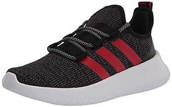 adidas Ultimafuture Running Shoe Black/Scarlet/White 1 US Unisex Little Kid