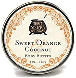 Three Sisters Apothecary Body Butter Sweet Orange & Coconut