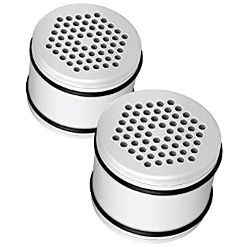 Waterdrop WHR-140 Shower Head Water Filter Replacement for Culligan WHR-140 WSH-C125 HSH-C135 ISH-100 Shower Water Filter Units Pack of 2