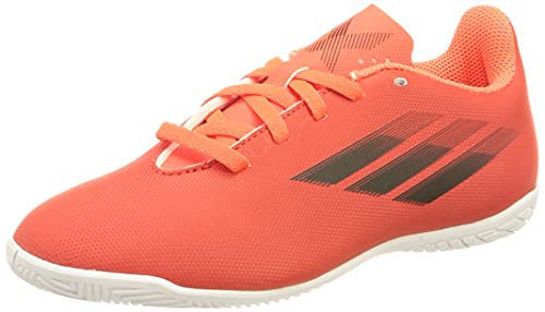 adidas X SPEEDFLOW.4 IN J,  Zapatillas Deportivas,  Rojo/NEGBÁS/Rojsol,  38 2/3 EU