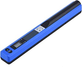 $58 » linxiaojix Document Scanners, Portable Scanners, Mass Storage Clear Imaging USB 2.0 Built-in Battery for/MAC OS(Blue)