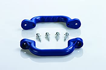 CREATIVE CEDAR DESIGNS Playset Safety Handles  One Pair - Blue One Size  BP 007