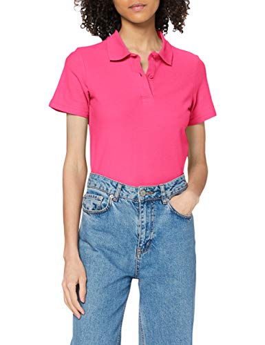 Stedman Apparel Polo/ST3100 T-shirt da Donna, Rosa (Sweet Pink), 40/42 EU (Taglia Produttore: Medium)