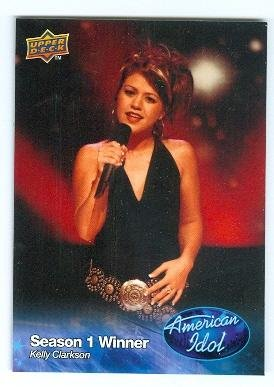 Kelly Clarkson trading card American Idol 2009 Upper Deck #019