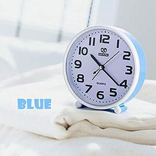 Cuadrado Simple De Cuatro Colores Retro Reloj Despertador Cuerno Mesa De Reloj Doble Reloj Digital Decoración del Hogar 1