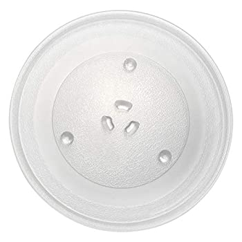 11.25  GE and Samsung Microwave Glass Turntable Plate Replacement by AMI PARTS 11 1/4  Microwave Glass Plate Replaces WB49X10097 WB49X10034 WB39X78 AP3188581