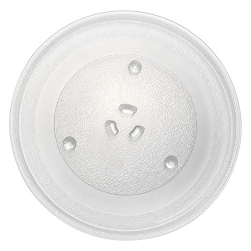11.25' WB49X10097 Glass Turntable Plate Microwave Replacement Part Replaces AP3188581 PS651544 947207 WB39X0078 WB39X78 WB49X10034 EAP651544, 11-1/4 Inch Microwaves Tray for GE SAMSUNG Hotpoint New