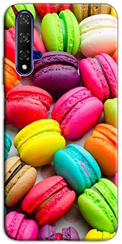 Mixroom - Cover Custodia Case in TPU Silicone Morbida per Huawei Nova 5T Fantasia Macarones Colorati M582