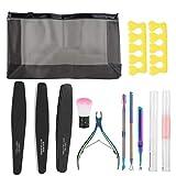 Durable robusto exfoliante cutícula kit de herramientas de manicura conjunto de herramientas para hombres mujeres para salón de uñas para el hogar uso profesional