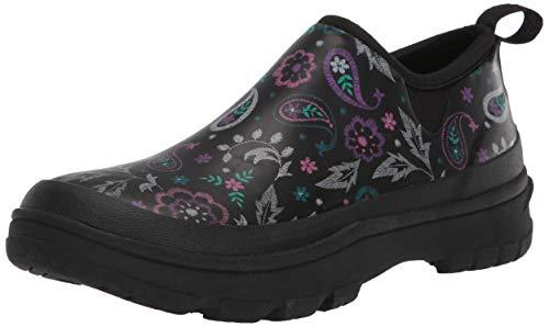 Western Chief womens Waterproof Neoprene Garden With Memory Foam Insole Rain Shoe, Black, 9 US