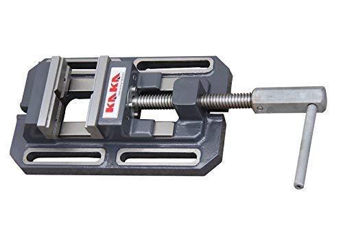 KAKA TSL-100, Drill Press Vise, Low Profile Metal Milling Drill Press Vice