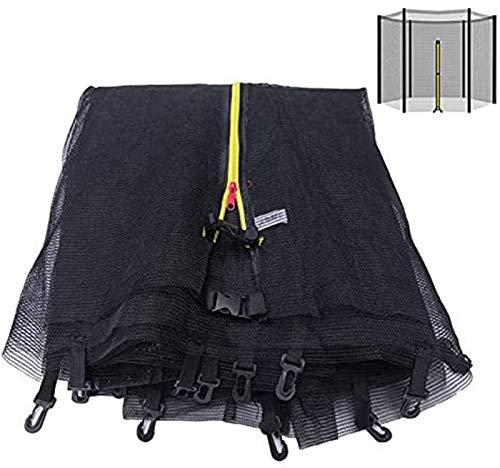 GXFXLP Red Protectora Cama Elastica, Repuesto Red de Seguridad para Cama elástica, ø 244/305/366/430 cm Resistente a los Rayos UV Recinto de Malla Redonda,Ø 430 8 barres