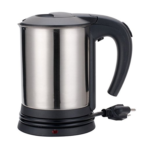 Aramco AI21122 27 oz Stainless Steel Electric Travel Kettle, Chrome