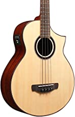 Ibanez AEW Series AEWB20NT Acoustic-Electric Bass Guitar Gloss Natural