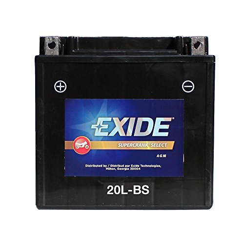 Exide Battery 20LBS Motorcycle Battery