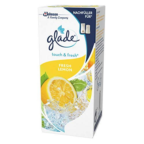 Glade Touch & Fresh (Brise One Touch) Nachfüller, Lufterfrischer Minispray, Fresh Lemon (Limone), 1er Pack (10 ml)