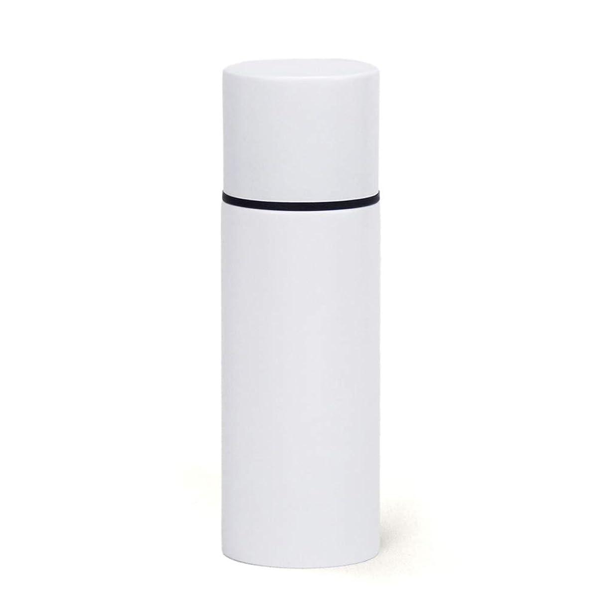 掃除自分の思慮のない前畑(Maebata) ステンレス製マグボトル 真空断熱構造 ホワイト 140ml リップスティックボトル ミニボトル 水筒 52096