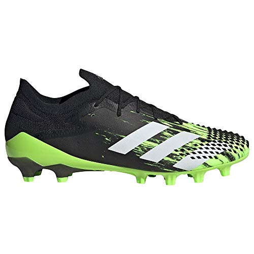 adidas Predator Mutator 20.1 L AG, Bota de fútbol, Signal Green-White-Core Black, Talla 6.5 UK (40 EU) ⭐