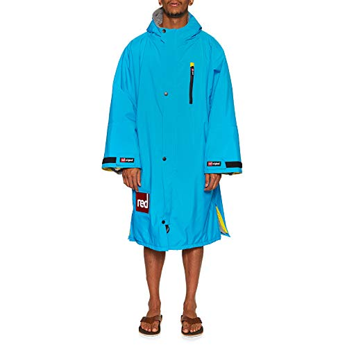 Red Paddle Co - SUP Stand Up Paddle Boarding - Giacca con Cambio Originale LS PRO Change - Hawaiian Blue - Thermal Warm