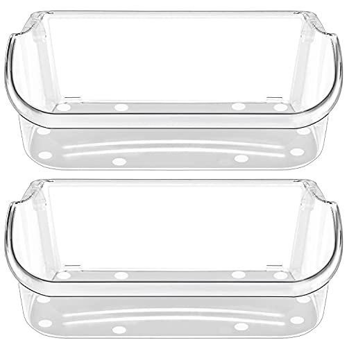 UPGRADE 240356402 Refrigerator Door Bin Replacement Part, Compatible with Frigidaire Refrigerator Door Shelf LFSS2612TF0 FFSS2615TS0 FGHS2631PF4A FGHS2655PF LGUS2642LF1 LFSS2612TE0 Door Bin(2-Pack)