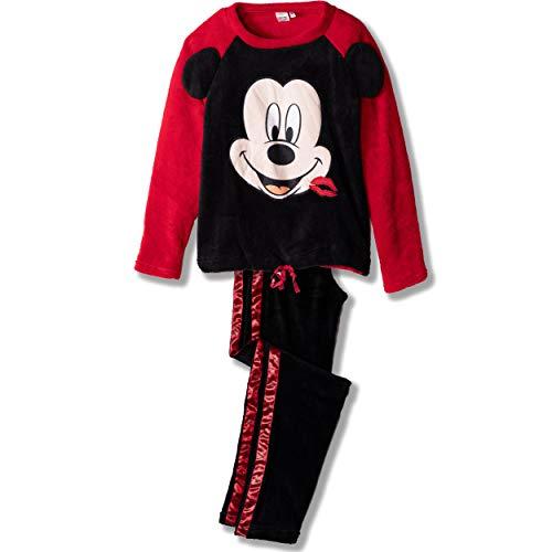 Minnie Mouse Damen Lang Pyjama Schlafanzug