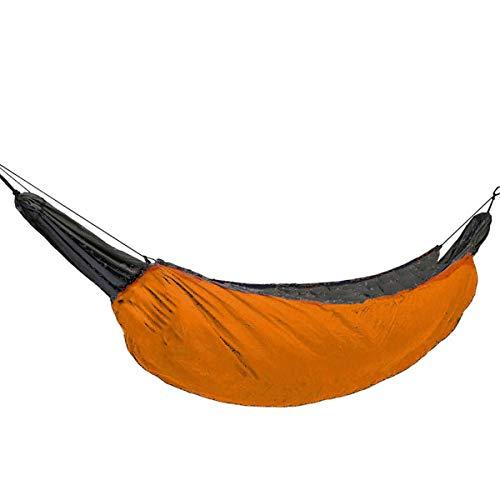 A-hyt hängematte Outdoor Tenting Hängematte Unterquillen im Freien Winter Niedrig Warme Schlafsack Tragbare Klapphammock-Abdeckung komfortabel und langlebig (Color : Orange)