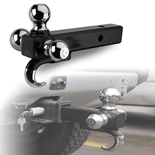 HIMACar Anhängerkupplungssatz, Rangierhilfe PKW-Anhänger Kombikupplung Zugmaul Kugelkopf Anhängerkupplung für Jeeps, LKWs, SUVs