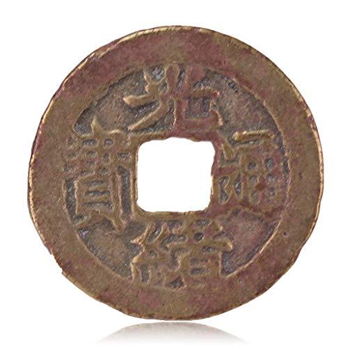 Alte chinesische Antike Münzen Qing-Dynastie Antike Kupfermünzen Bronzeplatten-Guangxu Tongbao - Baofu Amulett auszutreiben Böse Geister Money Drawing Reichtum Vermögen