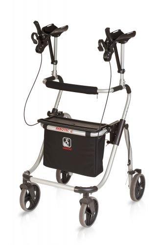 Rebotec Polo Yano M Arthritis-Rollator mit Unterarmauflagen, faltbar