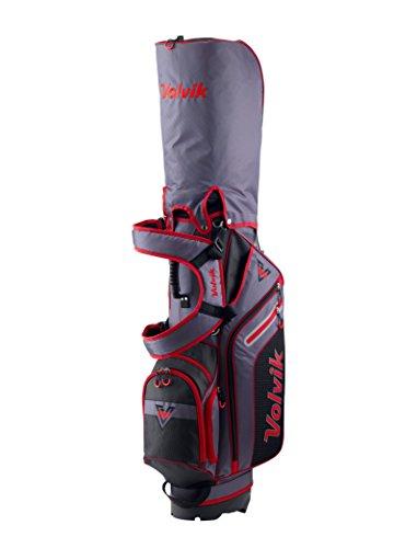 Volvik Stand Golf Bag 6-Way Stand Golf Bag, Red
