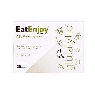 EatEnjoy Glutalytic - Gluten Intolerance Pills, Gluten Tablets, Capsules, Gluten Supplements
