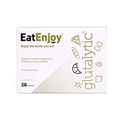 Gluten tablets to help reduce the symptoms associated with gluten intolerance including stomach cramps and bloating Gluten enzyme capsules support the healthy digestion of gluten protein so you can enjoy foods such as pizza, bread and pasta again Eas...