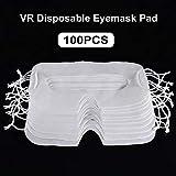 Precauti 100 Unids Máscara VR Almohadilla Desechable para Máscara de Ojos para HTC Vive VR Pro Funda para Oculus Quest Rift S GO para PS4 VR Samsung Gear VR Daydream Higiene